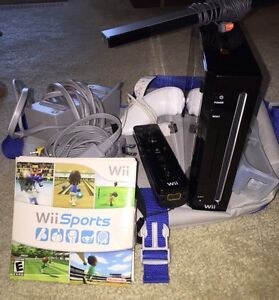 Nintendo Wii, controllers and game
