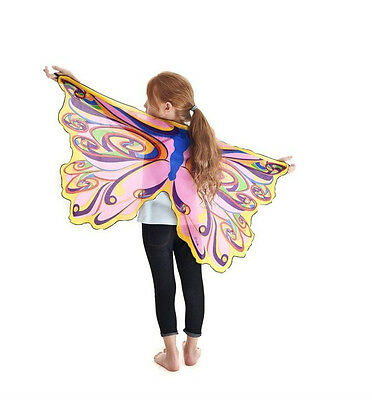 Wings Dress Up Dance Pretend Play Bat Dragon Butterfly Fairy Sparkle Bird Eagle (Dragon Dance Kostüm)