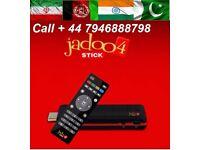 JADOO 4 STICK/ USB/ Portable 500+Live Persian Afghan Indian Pakistani Sports Moveis