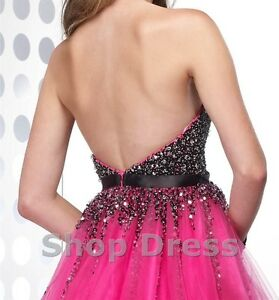 Alyce Hot Pink Grad/Prom/Special Occasion Dress London Ontario image 2