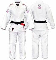 women's F3 white Fuji Blossom gi and Fuji A2 belt