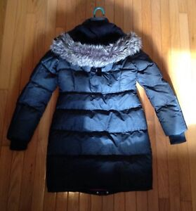 Winter coat from boathouse