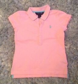 Girls Ralph Lauren Polo Shirt
