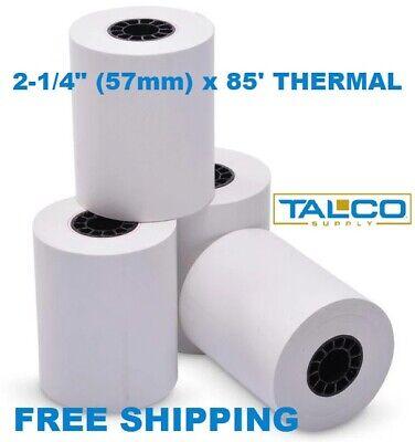 18 Receipt Paper Rolls 2-14 X 85 For Equinox T4205 T4210 T4220 T4230