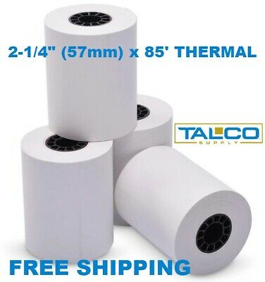 100 Samsung 2-14 X 85 Thermal Receipt Paper Rolls Fast Free Shipping