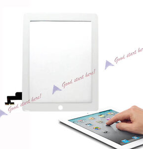 New White Glass Touch Screen Digitizer For Repair Parts Apple ipad 2 2nd Gen