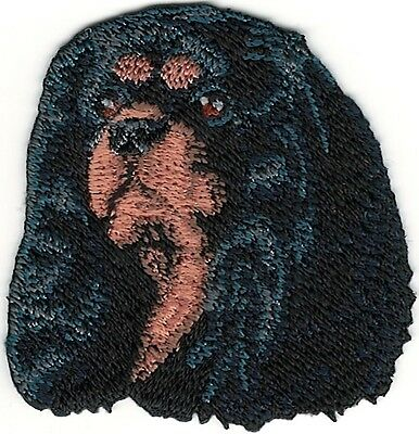 Cavalier King Charles Spaniel Head Portrait Dog Breed Embroidery Patch ()