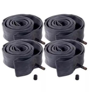 4x 24 inch Schrader Valve Inner Cycle Tube Bicycle Bike 24