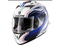 Shark S700 s pinlock Guintoli replica motor bike helmet
