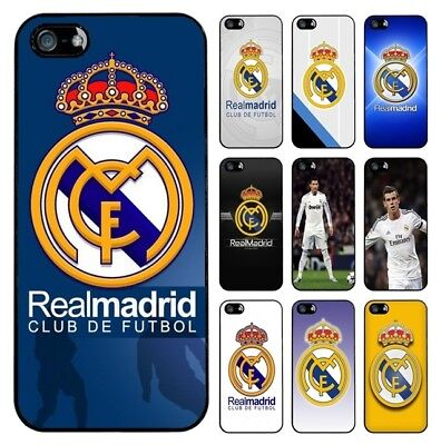 >> FC REAL MADRID PLASTIC RUBBER TPU CASE iPhone Samsung Huawei Htc Sony Lg <