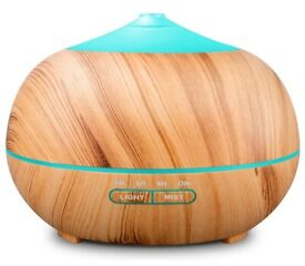 Tenswall 400ml Essential Oil Diffusers Ultrasonic Humidifier