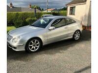 Mercedes-Benz, C CLASS, Coupe, 2007