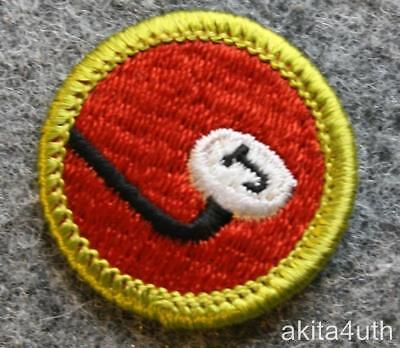 BSA Journalism Merit Badge - Type H Discontinued 1970's - Boy Scout