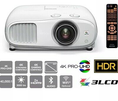 Epson EH-TW7000 - 3000 Ansi, 3LCD, 4K PRO-UHD Home cinema projector Unused