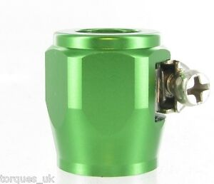 AN-4-AN4-11-5mm-Green-Fuel-Hose-Clamp-Finishers