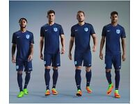 New style 2017-18 England away football soccer jerey shirt