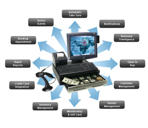 POS SYSTEM FOR BARBER, SALON & SPA FOR SALE FREE DEMO !!
