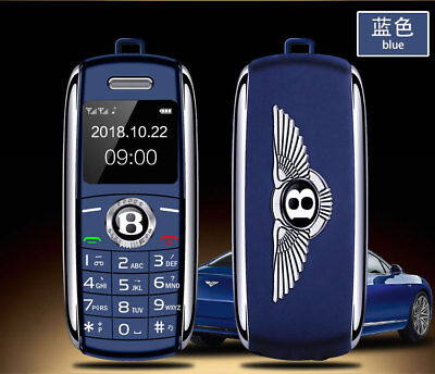 Mini Car Key Style Mobile Cell Phone Dual Sim Bluetooth Magic Voice Tiny Phone (Mobile Magic)