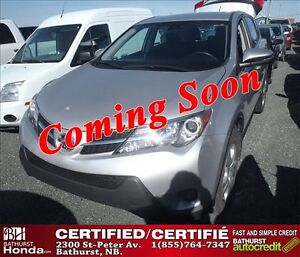 2015 Toyota RAV4 LE Certified! AWD! Bluetooth!