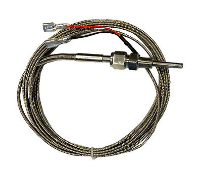 Temp Thermocouple K Type Stainless Steel Probe 12 Ft 3.66m Teflon Sealed