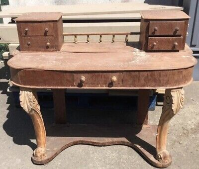 Antique Victorian Duchess Dressing Table Pine