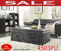Model 4503PU, coffee table,2 end tables