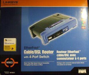 Linksys BEFSR41 10/100 Mbps 1X 4-Port 1X 5 port router Cable/DSL