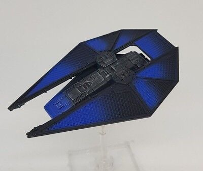 Star Wars X-Wing 2.0 Miniatures Game Custom Painted Tie Reaper Cobalt Squadron