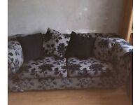 3 Seater Sofa and 2 single chairs