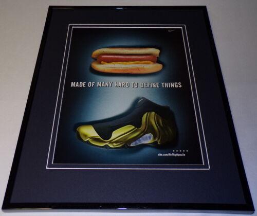 1999 Nike Air Flightposite Framed 11x14 ORIGINAL Advertisement