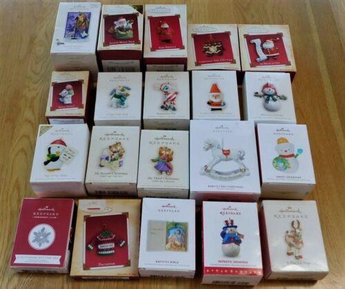 Hallmark Keepsake Christmas Ornament~YOU CHOOSE~in Box