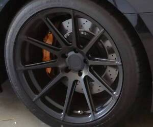 "Nissan GT-R R35 Rims - KOYA SEMI FORGED RIMS 20"" AS NEW Waratah Newcastle Area Preview"