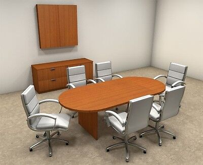Modern Racetrack 8 Feet Conference Table Ot-sul-c5