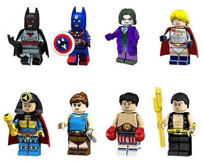 Super Heroes Captain America Batman Joker Power Girl Big Barda Lara Croft Loki - Joker Girl