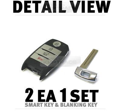 OEM Keyless Entry Smart Key Remote Control Uncut Blank For KIA 2016-18 Optima K5