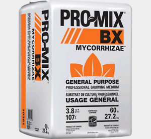 Growing, potting soil tax free half price while supplies last