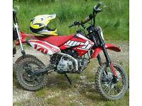 Pitbike 170cc detroit stomp race tuned pit bike