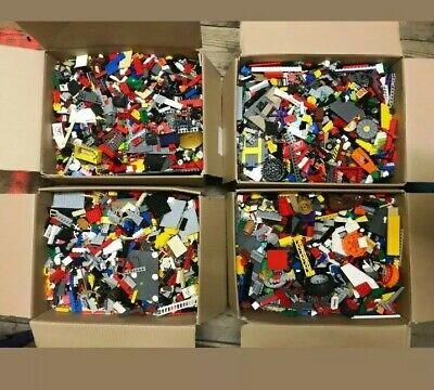 LEGO Bundle 2kg Mixed Bricks Parts Pieces minifigures + accessories Job Lot Set
