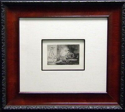 "Rembrandt ""The Golf Player"" custom Framed & COA  MAKE AN OFFER L@@K!"