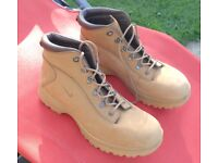 Nike Air ACE boots (not steel toe), brand new and unworn, size 11.