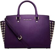 Purple Michael Kors Handbags