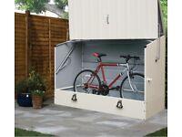 steel bike shed