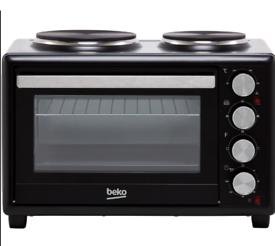 Beko, mini oven and dual hob