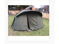 Bivvy trakker 2 man armo mk2 with new winter skin.