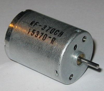 Rf-370 Air Pump Motor - 3 To 12 Vdc - 5600 Rpm - 12 V - Rf-370ch-15370