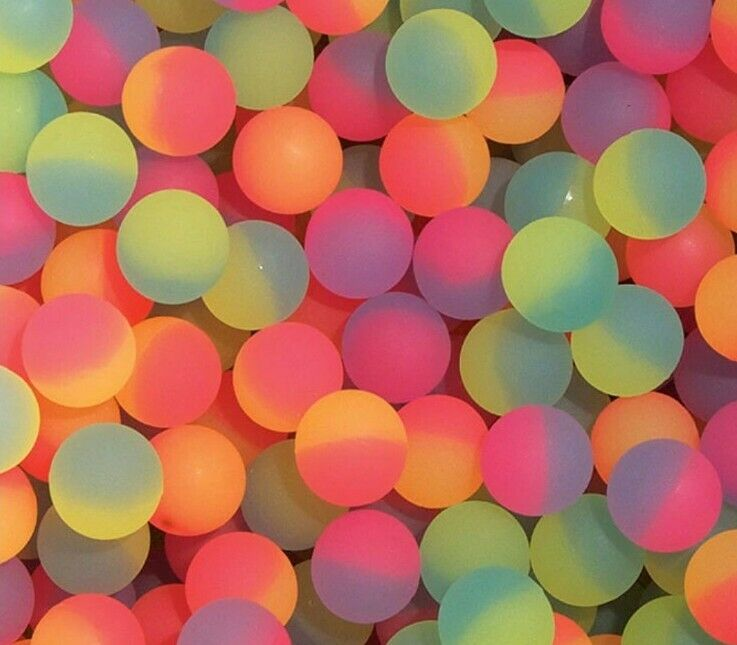 250 ICY 27MM SUPERBALLS, HIGH BOUNCE, BOUNCY BALL BALLS