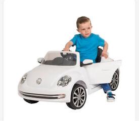 Kids Ride on Volkswagen Beetle