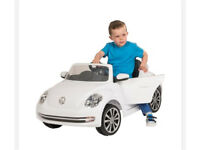 Kids Ride on Volkswagen Beetle