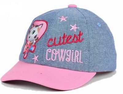 Disney Official Licensed Sheriff Callie Cutest Cowgirl Toddler Hat Cap $17 BJ - Toddler Pink Cowgirl Hat