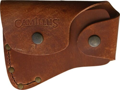 Camillus Teca Hatchet Sheath Vegetable Tanned Leather Belt Loop Made In China